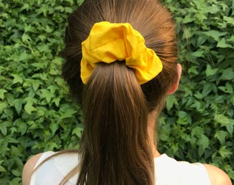 Zitrone- Bright Yellow Scrunchie