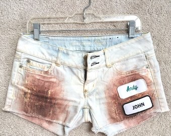 Gas Station Shorts - One of A Kind Look