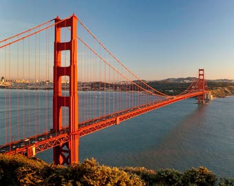 LIMITED EDITION - Golden Gate Bridge - San Francisco - Fine Art Print - Home Decor