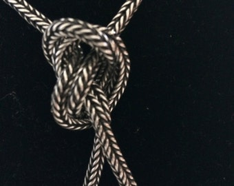 Antique Indian silver chain, smaller size.