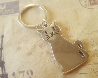 Cat keychain