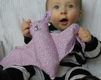 Flappy the crinkle bat baby toy