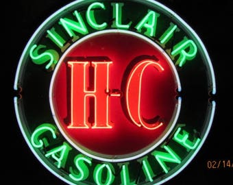 New Sinclair Dinosaur Dino Motor Oils & Gas Gasoline Station NEON SIGN LIGHT