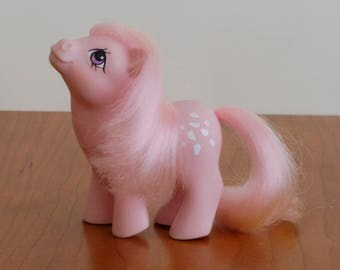 Retro G1 My Little Pony Baby Cotton Candy