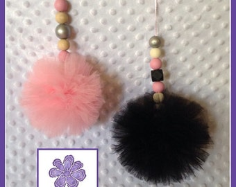 Tulle Pom Pom hanging decor