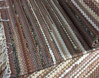 Recycled hand made doree boree rug runners (80X250CM)
