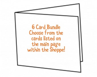 6 Card Bundle Package
