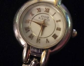 Anne Klein II Swiss 2tone analog quartz watch