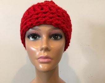 Chunky crochet beanie/hat