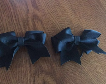 Black Bow. Melanoma Cancer.