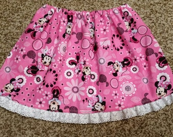 4T Minnie Mouse Ruffle skirt