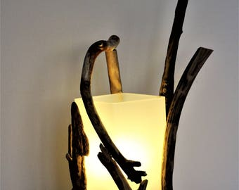 Driftwood table lamp * tablelamp made from driftwood