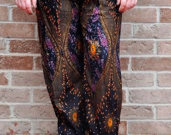 Handmade Thai Harem Pants / Yoga Pants