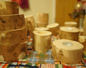 Variety Package - Reclaimed Christmas Tree Candles