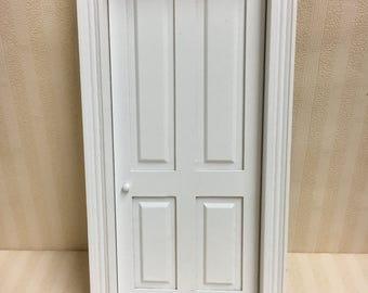 1:12 Dolls House Miniature Wooden Internal Door