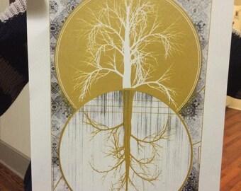 Trees - screen print