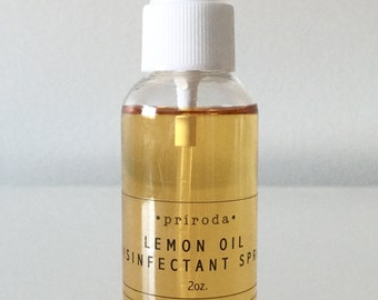 All Natural Lemon Oil Disinfectant 2oz