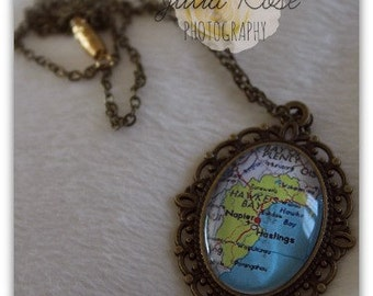 Hawke's Bay NZ pendant necklace