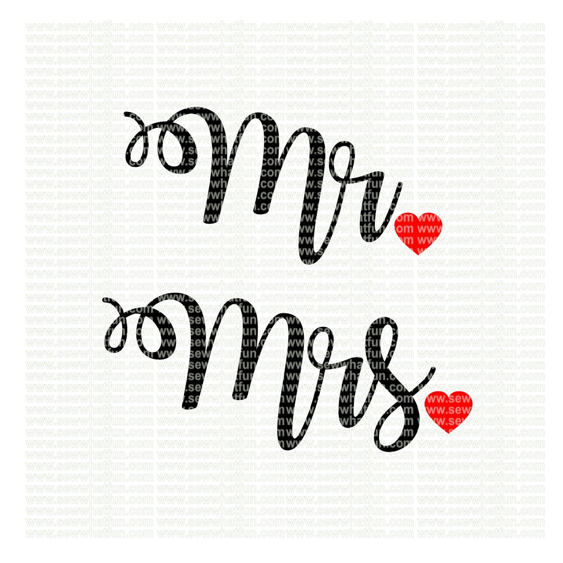 Mr and Mrs SVG cutting file vinyl file svg bride svg file