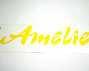 Amelie Decal