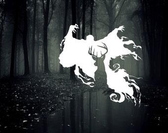 Dementor and Stag Patronus Vinyl Decal