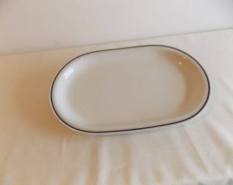 Reduced in price....A serving platter by Hutschenreuther. U.S.Zone. Bavaria.