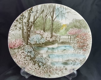 "Johnson Brothers Bros English Gardens 10 1/2"" Oval Platter"