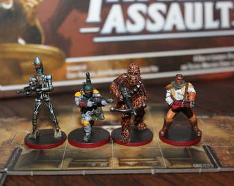 Custom Commissioned Star Wars: Imperial Assault Miniatures