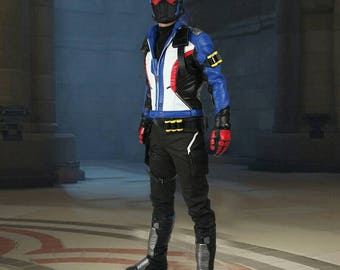 Soldier 76 full cosplay set costume every size