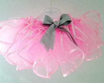 Parisian pink tutu or Customize your own tutu, pink tutu, toddler tutu, photo tutu prop, photo prop, birthday tutu