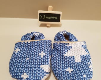 0 to 3 month slippers - size 1