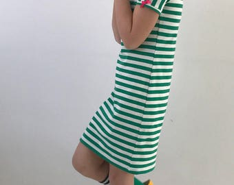 Dress stripes green