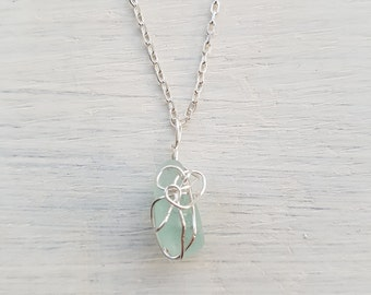 Turquoise freedom waves necklace