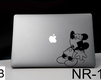 Disney decal,Disney Mickey,Mickey Mouse, Classic Mickey Mouse decal ,MacBook Pro, MacBook Air, MacBook, Gift, For her, geekery