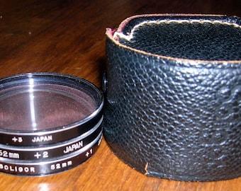 Soligor 52mm +1,+2,+3 Close Up Lens Set