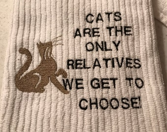 Bar Towel Embroidered.