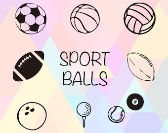 Sport Ball Clipart | Sport Ball SVG File | Sport Ball Vector | Sport Ball Dxf | Sport Ball Eps | Sport Ball Cricut | Sport Ball Png