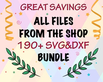 SVG Bundle Files | SVG Files | SVG sale | Dxf Files | Svg Bundle Sale | Cricut Bundle | Silhouette Bundle | Cut File Bundle