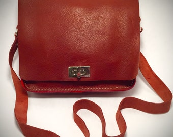 Recycled Leather Hand Bag