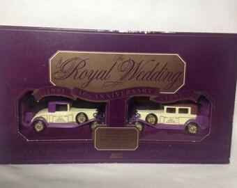 Lledo Royal Wedding 10th Anniversary Box Set Charles & Diana 1991 Rolls Royce
