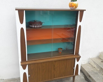 SOLD*** Mid Century Dining Room Hutch/Sideboard