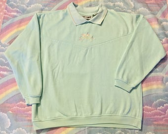 Vintage Pastel Mint Green Sweatshirt