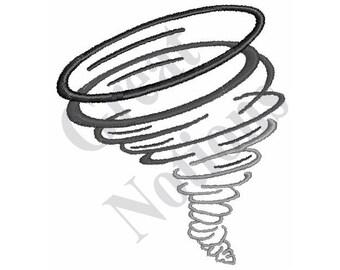 Tornado - Machine Embroidery Design
