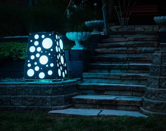 Atmos - A Modern Flameless Fire Pit Unique Fusion of LED Light and Sound