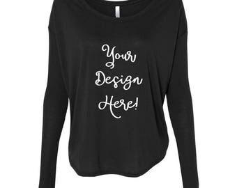 Custom Appliqué Long Sleeve Shirt