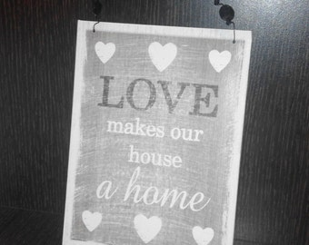 Plywood Sign, Handmade Sign, Wall hanging Sign, Wooden Sign, Wooden Letters, Wall Decor, Home decor
