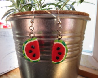 Watermelon Earrings!