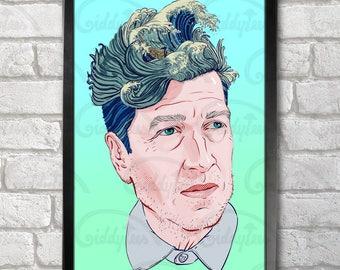 David Lynch Poster Print A3+ 13 x 19 in - 33 x 48 cm  Buy 2 get 1 FREE