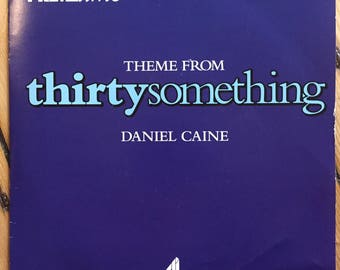 "Theme from Thirtysomething b/w Theme from The Cosby Show - 7"" Vinyl"