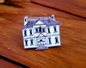 shrink film house pin